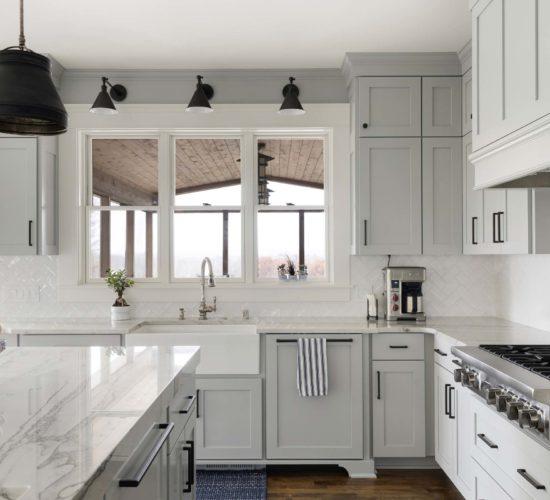 Refreshing Main Level Remodel Kitchen Sink