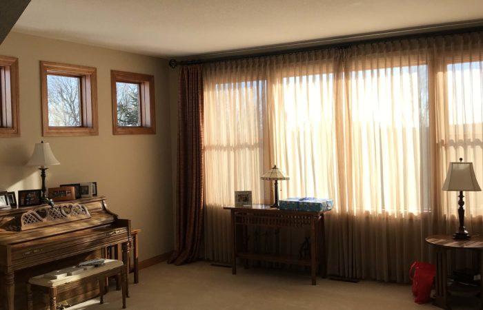 Refreshing Main Level Remodel Living Room Before