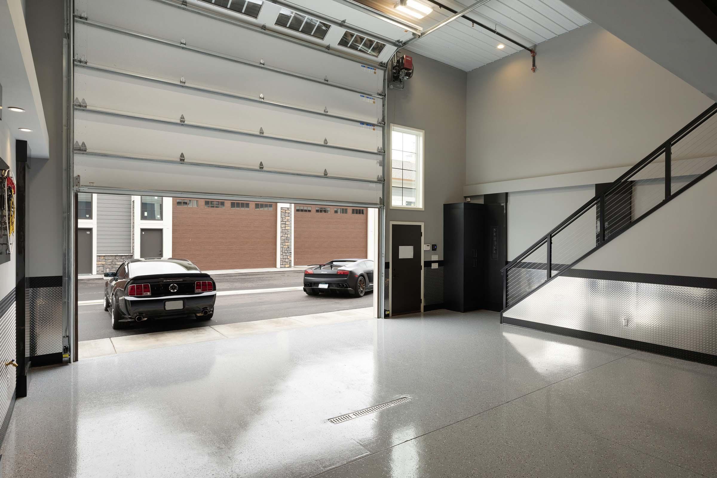 Sleek Medina Garage Condo Remodel Gonyea Transformations