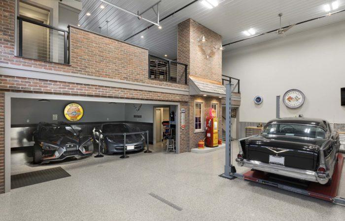 Unique Garage And Loft Remodel Lower Level