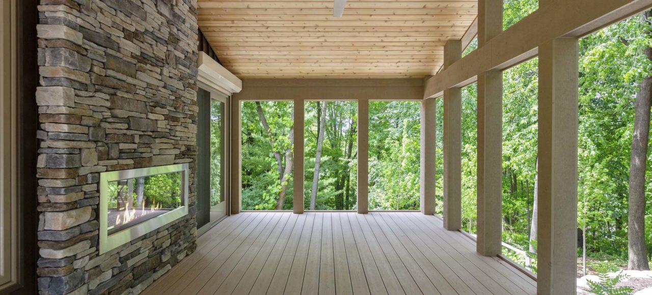 Minnetonka Gathering Room Retreat with Skyway Bridge