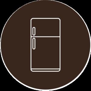 Refrigerator Brown